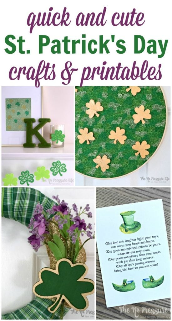 St. Patrick's Day crafts and DIY decor