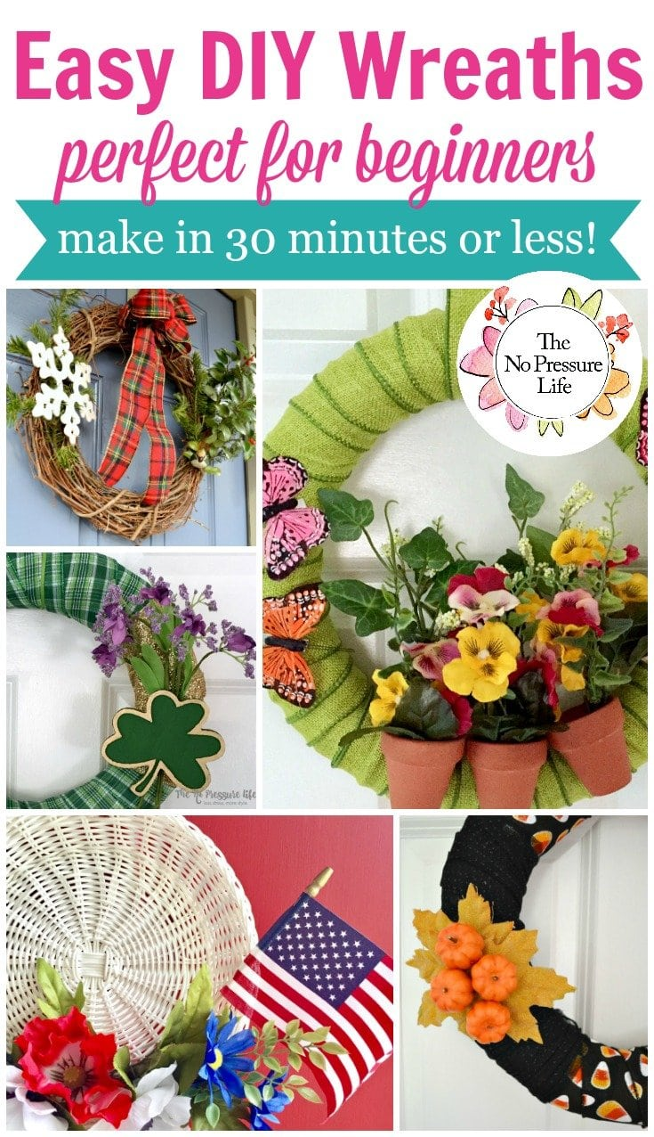 Easy DIY wreaths for beginners to make